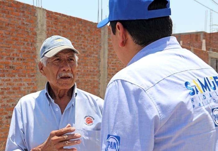 vivienda mejoramiento Samuel Hidalgo