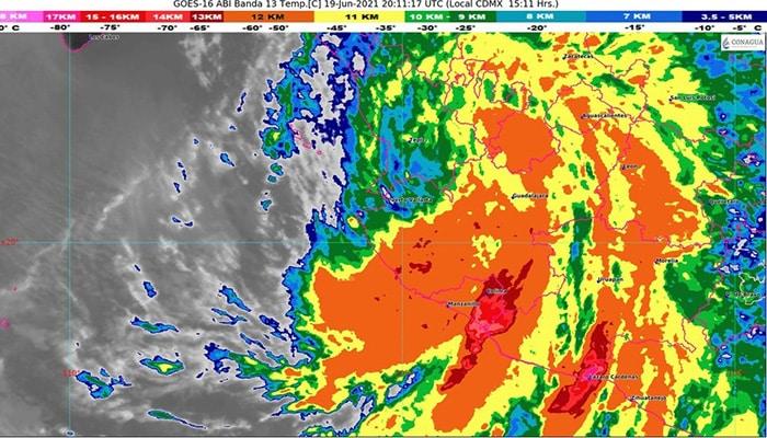 Dolores tormenta tropical