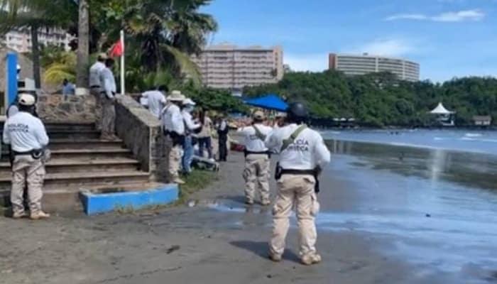 Ahogado La Piedad en Ixtapa