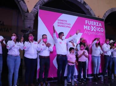 Angamacutiro Fuerza X México Hermes Pacheco