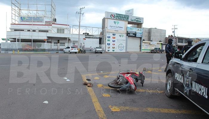 CHOQUE MOTOCICLISTAS CRUCERO