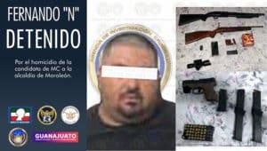 Moroleón homicida candidata