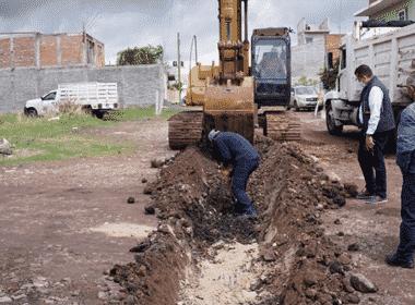 drenaje poniente La Piedad 1 arranque