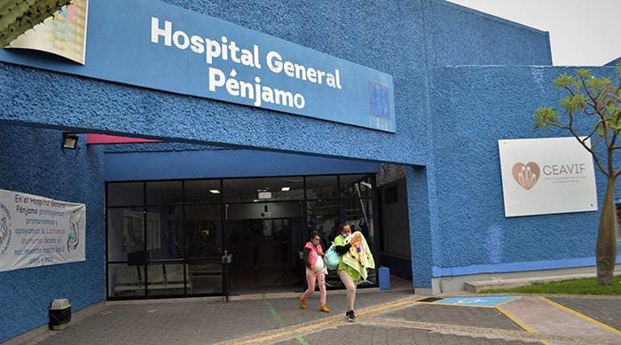 hospital general de pénjamo pandemia