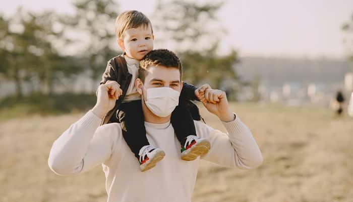 padre pandemia paternidad