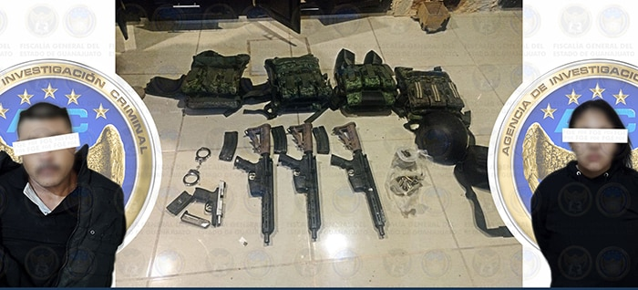 Salamanca drogas armas detenidos