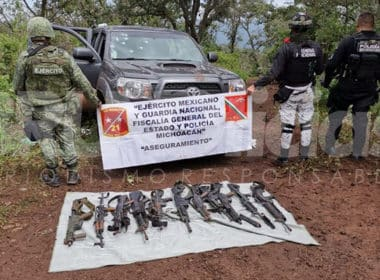 Tangamandapio Ejército Armas