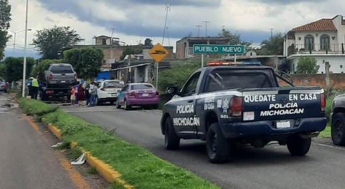 Numarán, Pueblo Nuevo embarazada Choque