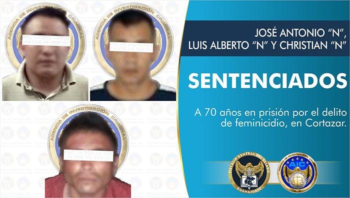 feminicidio Cortazar sentencia