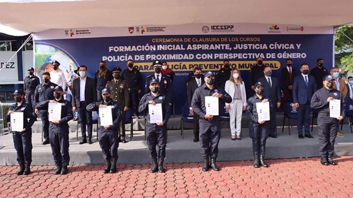 policía municipal La Piedad certificación