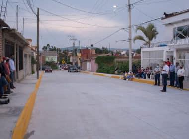 calles pavimentadas Zaragoza Santa Fe