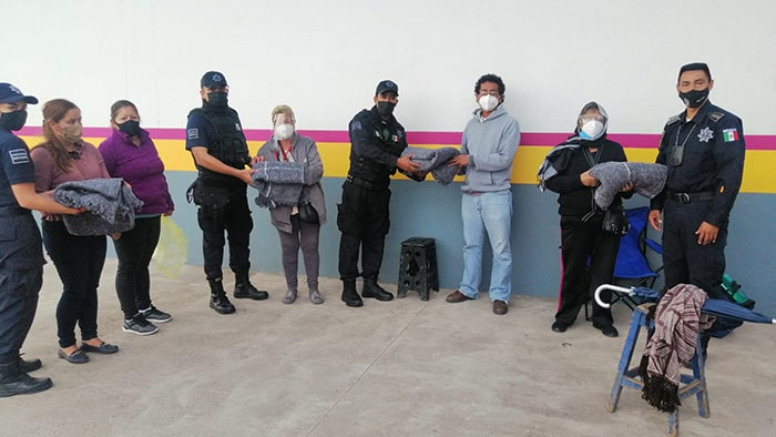 cobijas Policía LPD HG