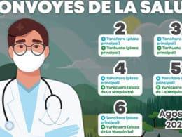 Convoy de la Salud Yurécuaro Tanhuato