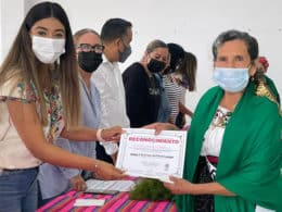 Embajadora del Adulto Mayor Ecuandureo