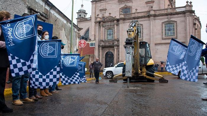 avenida Juárez inicio rehabilitación