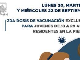 centennials vacunación La Piedad 1