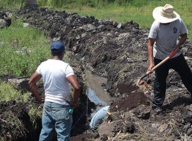 drenaje La Estancia Ecuandureo